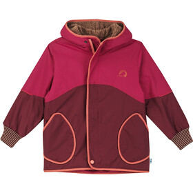 Finkid Nalle Mukka Winter Jacket Kids cabernet/chili